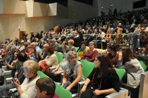 Público en el I Foro de la Cultura